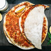 How to Make Pizza Lahmacun  Popular Oriental Dish